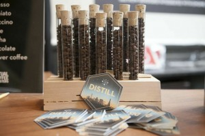 Distill coffee test tubes