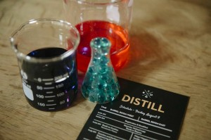 Distill beakers