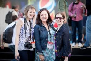 Katie and Karen's first SXSW in 2011