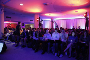 Packed House watches at the Breakout Stage